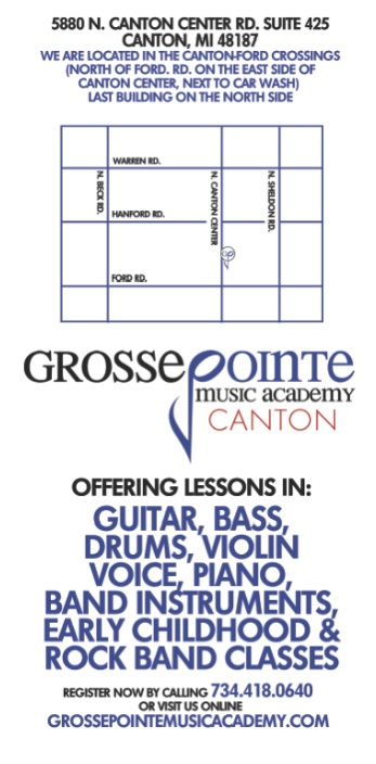 Canton Michigan Music Academy featuring private music lessons