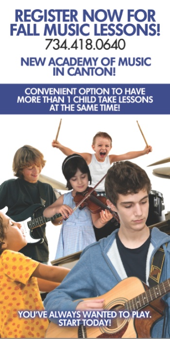 Music Lessons in Canton for Guitar, Piano, Violin, and More