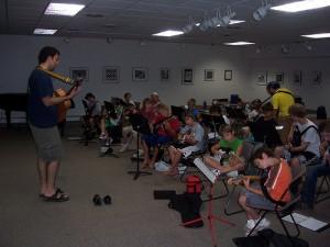 Music Camp guitar camp detroit