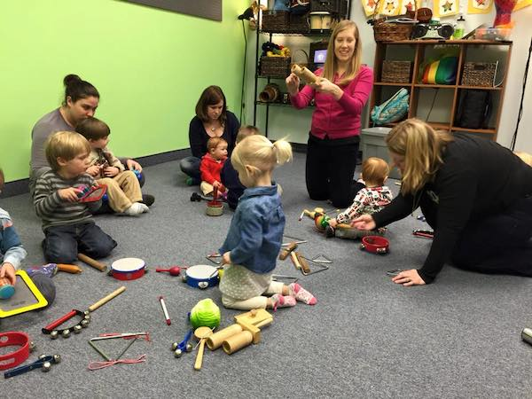 Music Classes for Babies and Toddlers in Canton MI